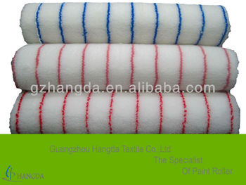 nylon paint roller fabric with blue stripe 1100g/sqm-12mm