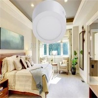 FedEx Free Shipping 18W round LED panel downlight 225*40mm SMD2835 high luminous 2350m