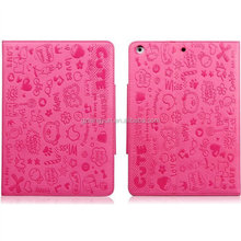 Newest and Paris style design tablet cover for ipad 3 leather case