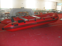 Hot!!!! (CE)PVC material 6 persons 3.6m OEM accepted inflatable water sports rowing boat for sale