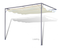 garden patio awning sunshade canopy wall gazebo