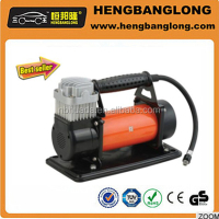 Factory price sold well HD-508 air compressor,dc 12v tire inflator,car emergency tool kit