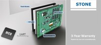 "3.5"" LCD touch screen module for industrial monitor & controller"