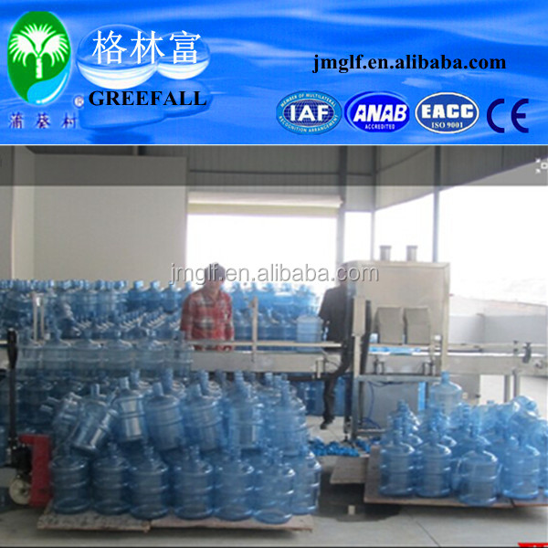 Factory manufacture 5 gallon mineral water filling equipment/pure water bottling machine/water filling production line