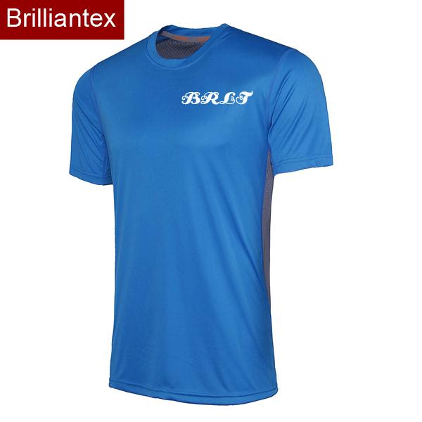 Brilliantex latest design wholesale quick dri sports t for T shirt design wholesale