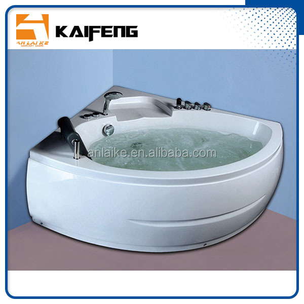1300 x 1300mm premium indoor 2 person mini bathtub with rubber neck pillow adult bath seat air bubble jetted whirlpool hot tub