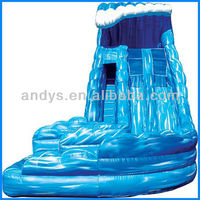 Monster Wave 2012 best quality inflatable water slide for kids
