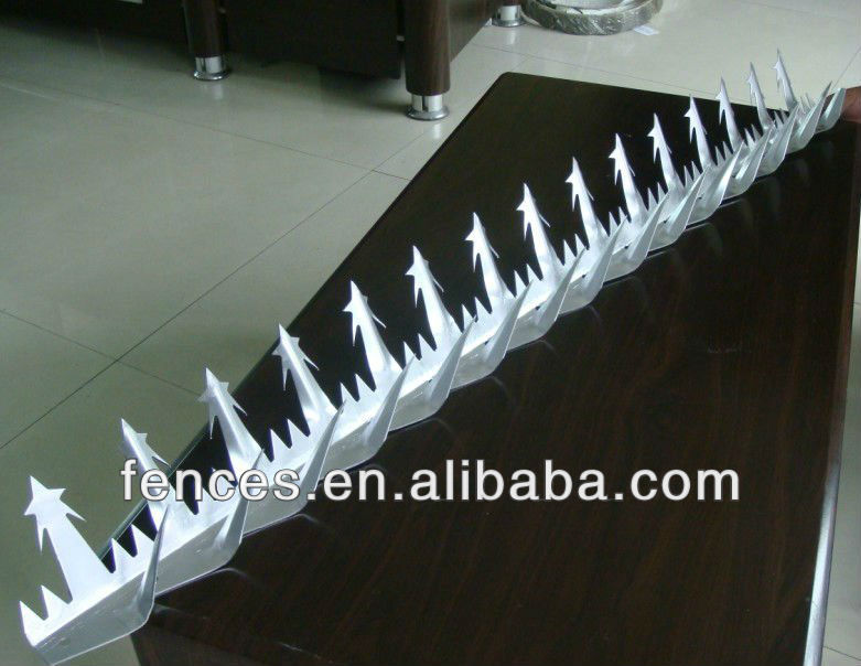 barbed wire fence/gi barbed wire/barbed wire razor wire mesh wall spike