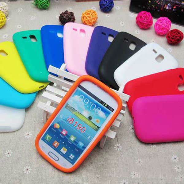 factory price s3 mini case , for samsung galaxy s3 mini silicon case