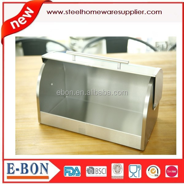 bread box with glass window
