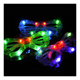 Led shutters pentagram Halloween bar dance birthday party rock props and glasses wholesale