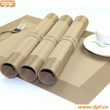 PVC dining table plate mat