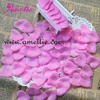 Heart shape fabric dried rose petals