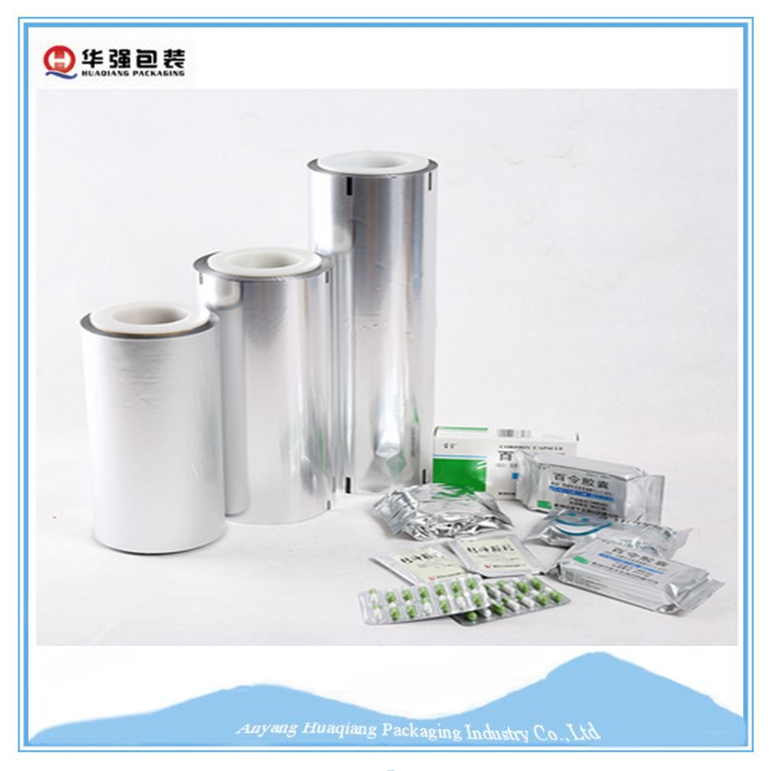 High quality Factory Directly Provide Aluminum Film For Medical Packaging
