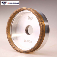 150mm ceramic bond diamond grinding wheel for glass edge polishing