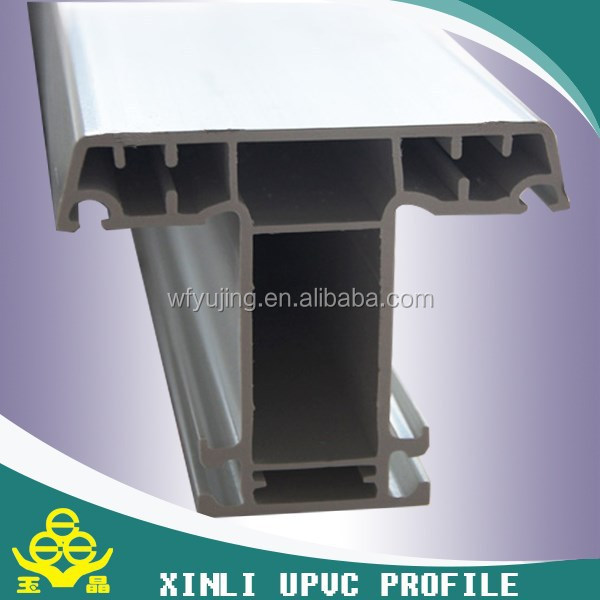 Plastic extrusion companies specializing in custom UPVC/PVC profile for window