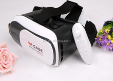 cardboard VR BOX 3D video Glasses +gamepad controller 3D video Glasses Virtual Reality Headset for 3D Moives And Games
