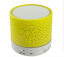 Hot sale Made in China new arrival waterproof music flower pot wireless speaker with led light