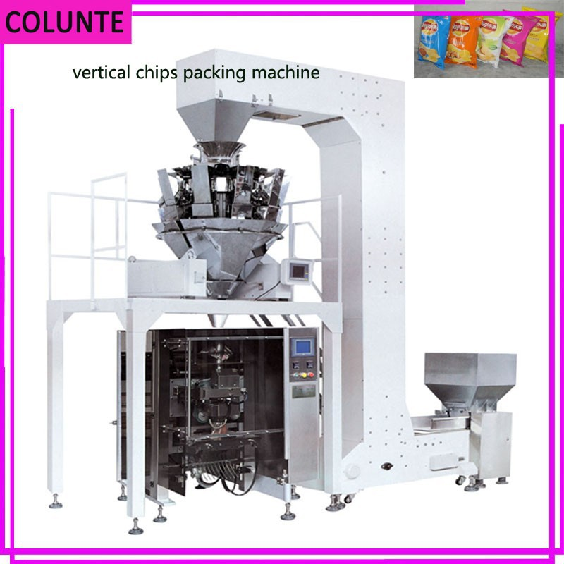 Automatic Vertical Potato Chips 1 kg Packing Machine on sale