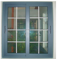 Hot selling Energy saving heavy duty double glazed aluminium sliding window with Australian standard AS2047