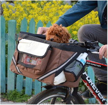 Hot Selling Outdoor Pet Carrier Bicycle Basket For Ptes