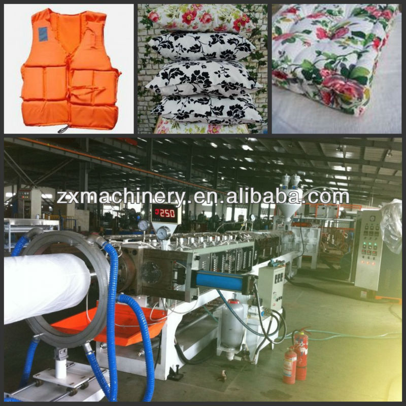 Supplying Top-Quality Plastic expanded EPE Foam Sheet Extruder for foam mattress making