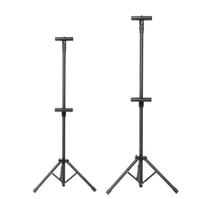 cheap metal double sided tripod poster stands display stand