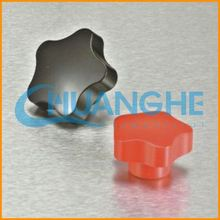 China supplier cheap 6mm round black knobs