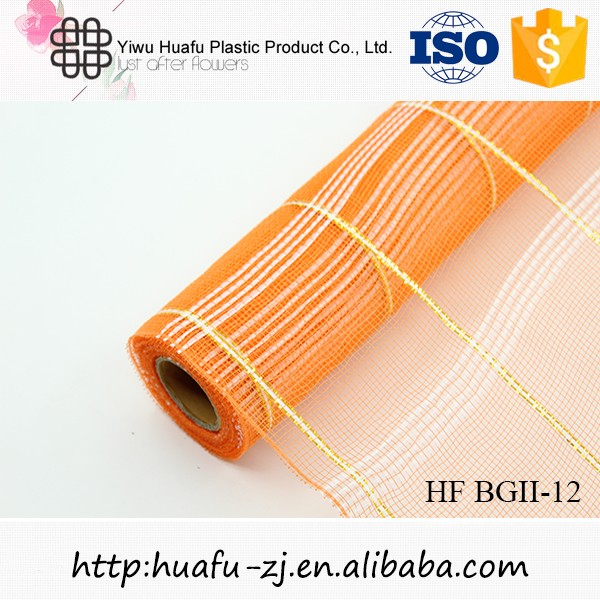 HOT SALE Organza flower mesh roll