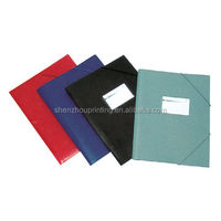 PP stationery file bag/envelop document hard plastic file folder