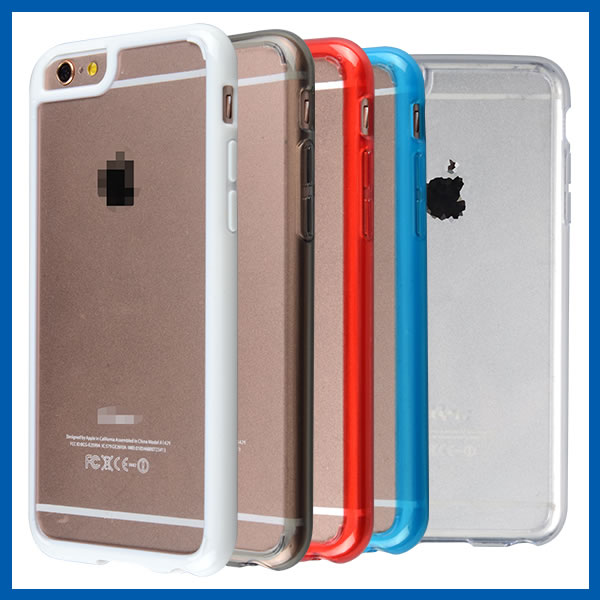 C&T Crystal Clear PC Back TPU Bumper For Apple iPhone 5SE