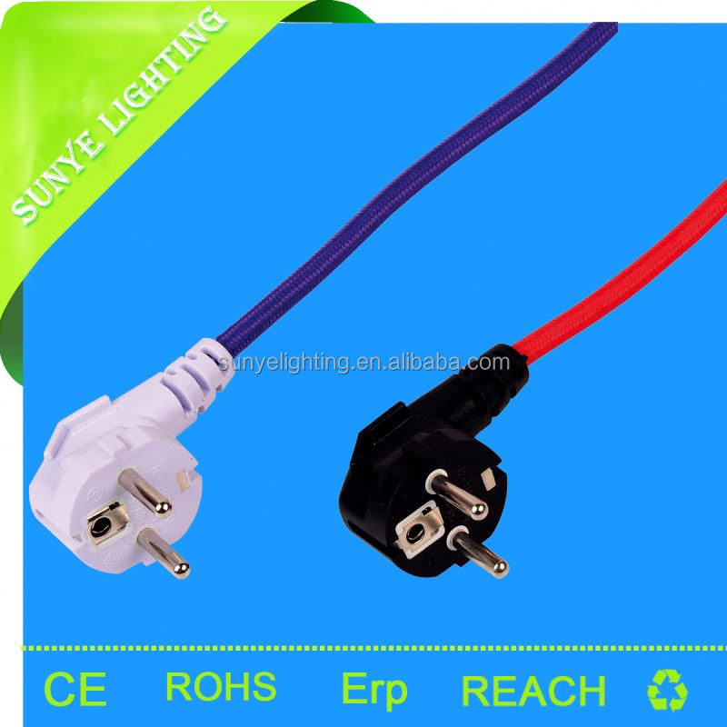 2*0.75 CE VDE certification 5 pole 3.5mm plug to 3 rca cable