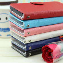 Small MOQ Leather Flip Case for Samsung Galaxy s2 I9100
