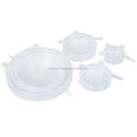 Factory Price Made in China As Seen on TV Heat Resistant Silicone Stretch Lids