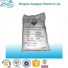 Synthetic rubber potassium hydroxide flake