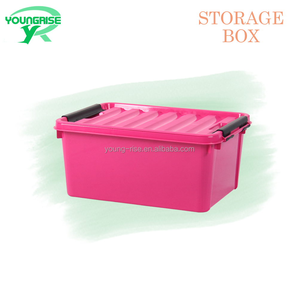 Top Quality PP Eco-friendly Thicken Toy Storage Box Plastic Clothes Organizer for Sale
