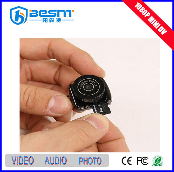 very easy to use mini hidden camera vedio voice recorder rechargeable Smallest mini camera for sell BS-786