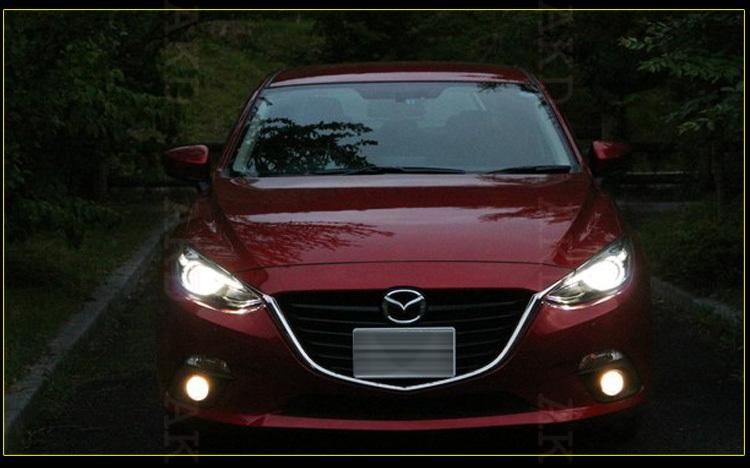 Car Led Lamp >> Akd Car Styling Mazda 3 Led Headlight 2014 Mazda3 Headlights Mazda 3 Head Lamp Projector Bi ...