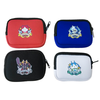 Waterproof insulated custom colorful coin purses