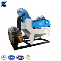 Wet sand dehydrating equipment fine ore recycling and dewatering machine