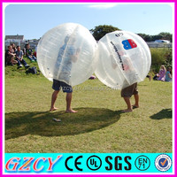 Abrasion-proof tpu kids body zorb balls