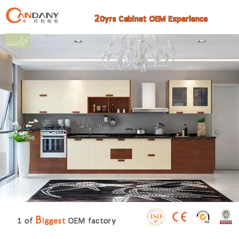 Intelligent Combined PVC Kitchen Cabinet,kitchen Cabinet Plastic Cover,  Quartz Countertop