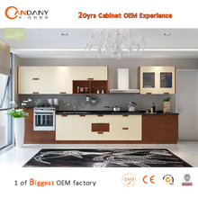 Intelligent combined PVC kitchen cabinet,kitchen cabinet plastic cover, quartz countertop