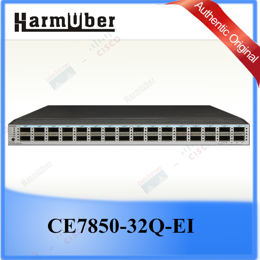 Huawei SDN-ready Ethernet Switch with Resilient 40 Gbit/s Ports CE7850-32Q-EI