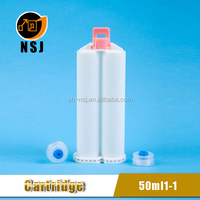 50ml 1:1Dental Silicone Material Cartridge/Dental Material Container