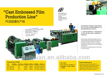 cast embossed film production line