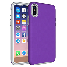 New Style DIY TPU PC Soft Rubber Oil Phone Case Cover for Iphone x