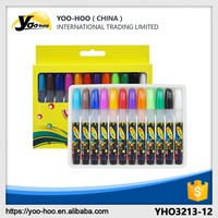 Hot sale 12 colores twist crayons with colored box