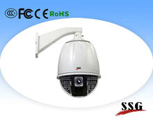 Vandal- proof Dome IP Camera with excellent low light performance,Support ONVIF protocol Language Option French