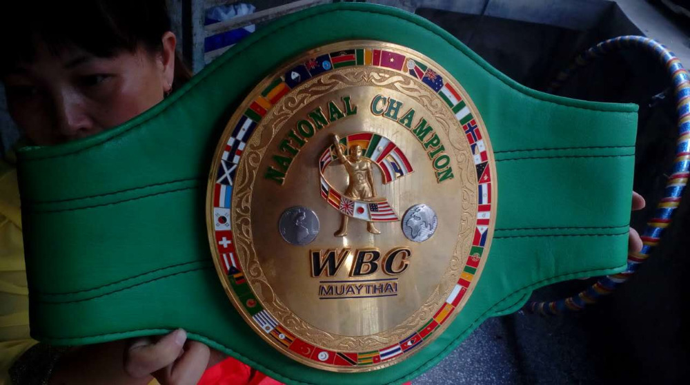 Chinese factory made OEM boxing championship belt